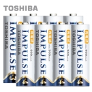 TOSHIBA IMPULSE 高容量低自放電電池(內附3號4入+4號4入)