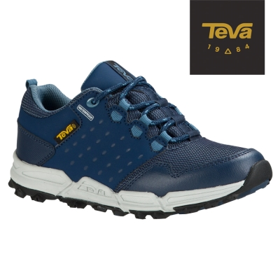 TEVA 美國 大童 Wit防水休閒運動鞋(海軍藍)