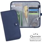 DF Queenin流行 - 韓版旅遊長版護照收納夾-共3色
