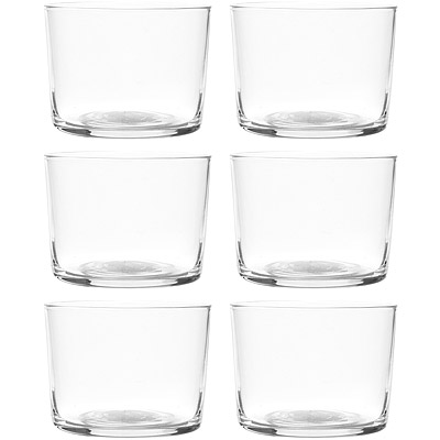 EXCELSA NY輕透玻璃杯 6 入( 220 ml)