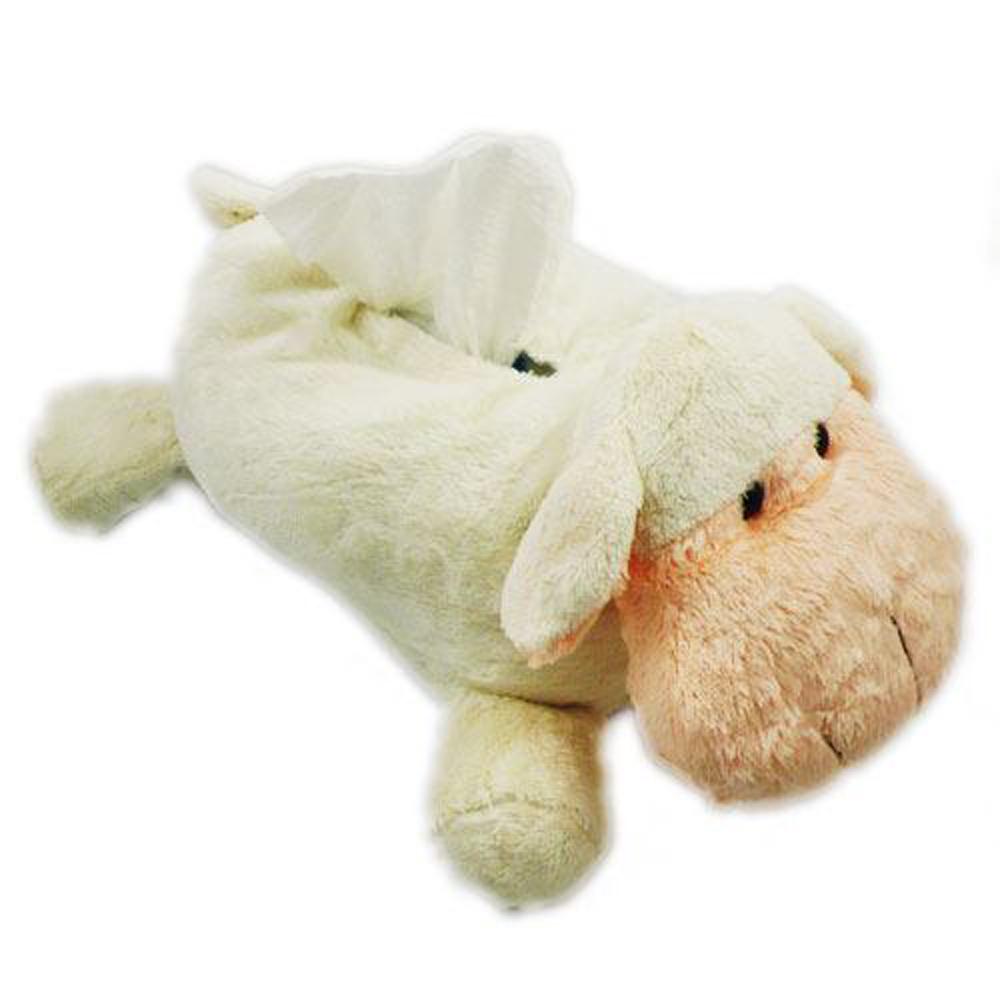 卡哇依動物面紙套(綿羊)3入