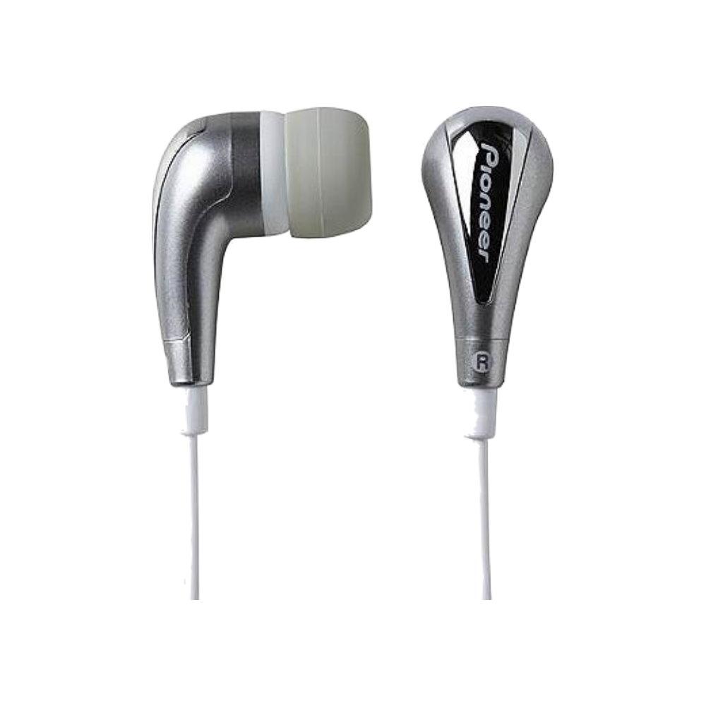 [福利品]Pioneer炫目閃亮銀內耳式耳機(SE-CL20U-X-S)散裝出清