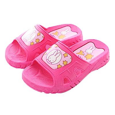 米飛兔休閒拖鞋 桃 sk0396 魔法Baby