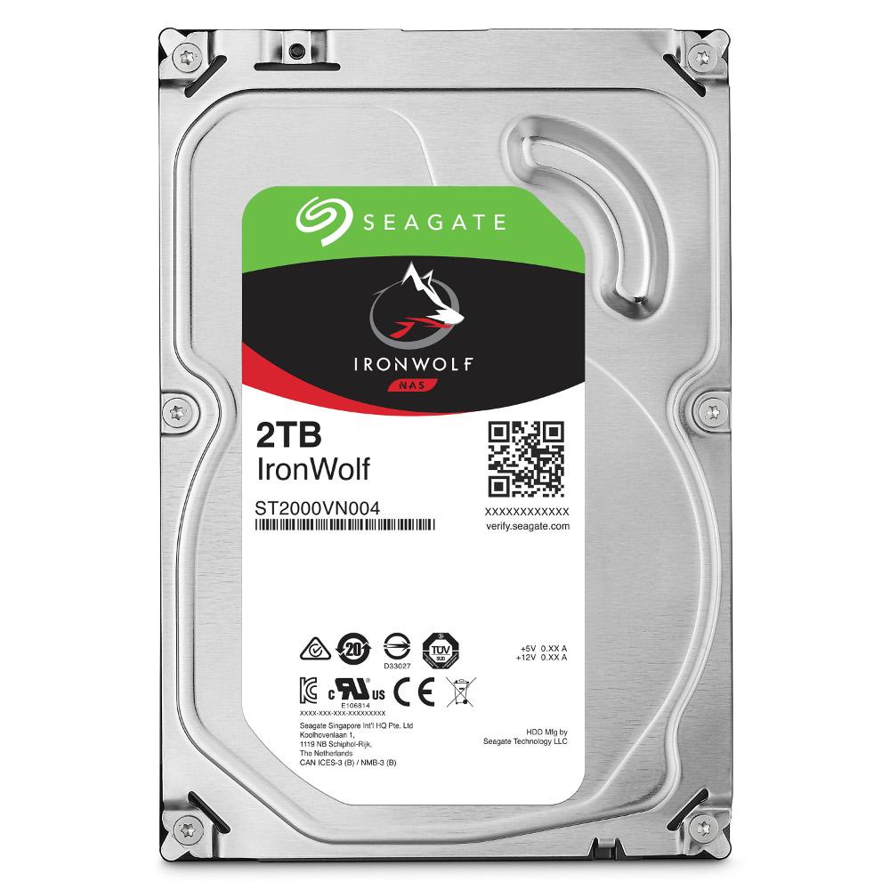 Seagate 那嘶狼 IronWolf 3.5吋 2TB NAS專用硬碟