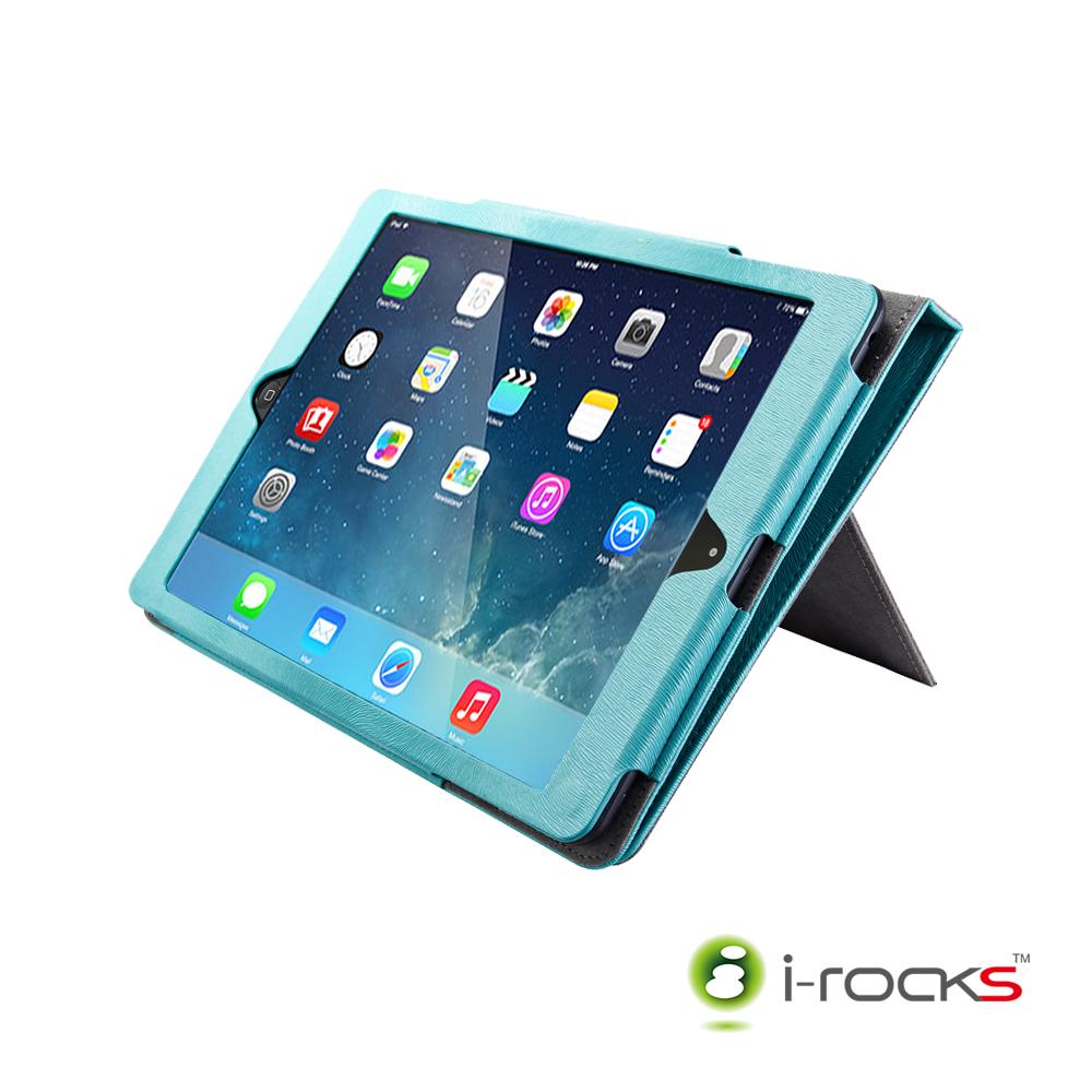 [福利品]i-Rocks IRC18W iPad Air / Air2皮革保護皮套