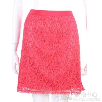PHILOSOPHY-AF 橘紅色蕾絲花裙