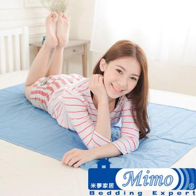 米夢家居 嚴選長效型降6度冰砂冰涼墊(60*90CM)兒童、單人小床墊用(1入)