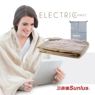 Sunlus隨意披蓋舒柔電熱毯SP2405BR