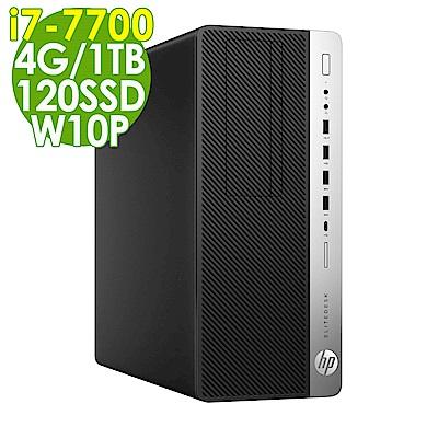 HP 800G3 i7-7700/4G/1TB+120SSD/W10P