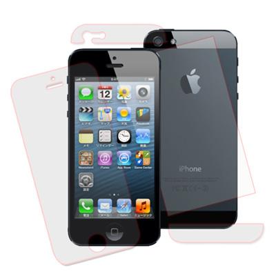 VXTRA-APPLE-iPhone5-5S-SE-高透光亮面耐磨保護貼-附背面貼