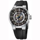 ORIS豪利時 Williams 引擎鏤空日期機械錶-灰x黑/42mm