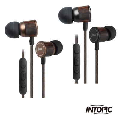 INTOPIC 廣鼎 偏斜式木質鋁合金耳機麥克風(JAZZ-I85)