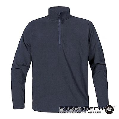 【加拿大STORMTECH】VFP-1經典1/4拉鍊FLEECE保暖上衣-男-深藍
