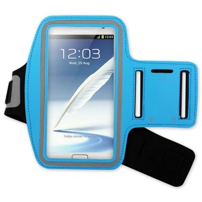 三星 Samsung Note1/2/3專用 彩色運動防潑水手機臂帶