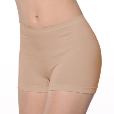 Emon 竹炭無縫零著感 一體成型中腰平口內褲(多色任選)