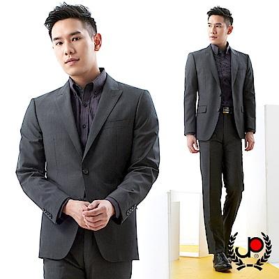 極品西服 簡約品味仿毛小劍領西裝外套_灰色(AS733-3G)