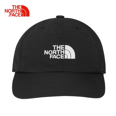 The North Face黑色便捷防曬運動帽