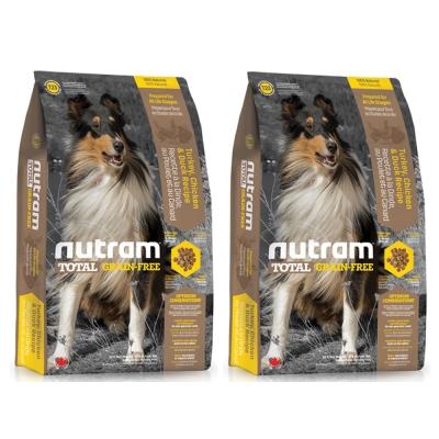 Nutram紐頓 T23無穀潔牙犬 火雞配方 犬糧 2.72公斤 x 2包