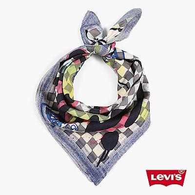 領巾 格紋印花 - Levis