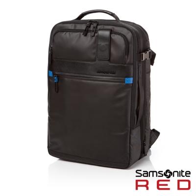 Samsonite-RED-ATOR-時尚休閒後背包L-時尚黑