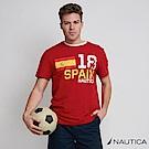 Nautica  2018世足賽西班牙設計T恤-紅