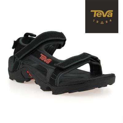 TEVA 美國 中童 K Tanza 運動涼鞋(黑灰)