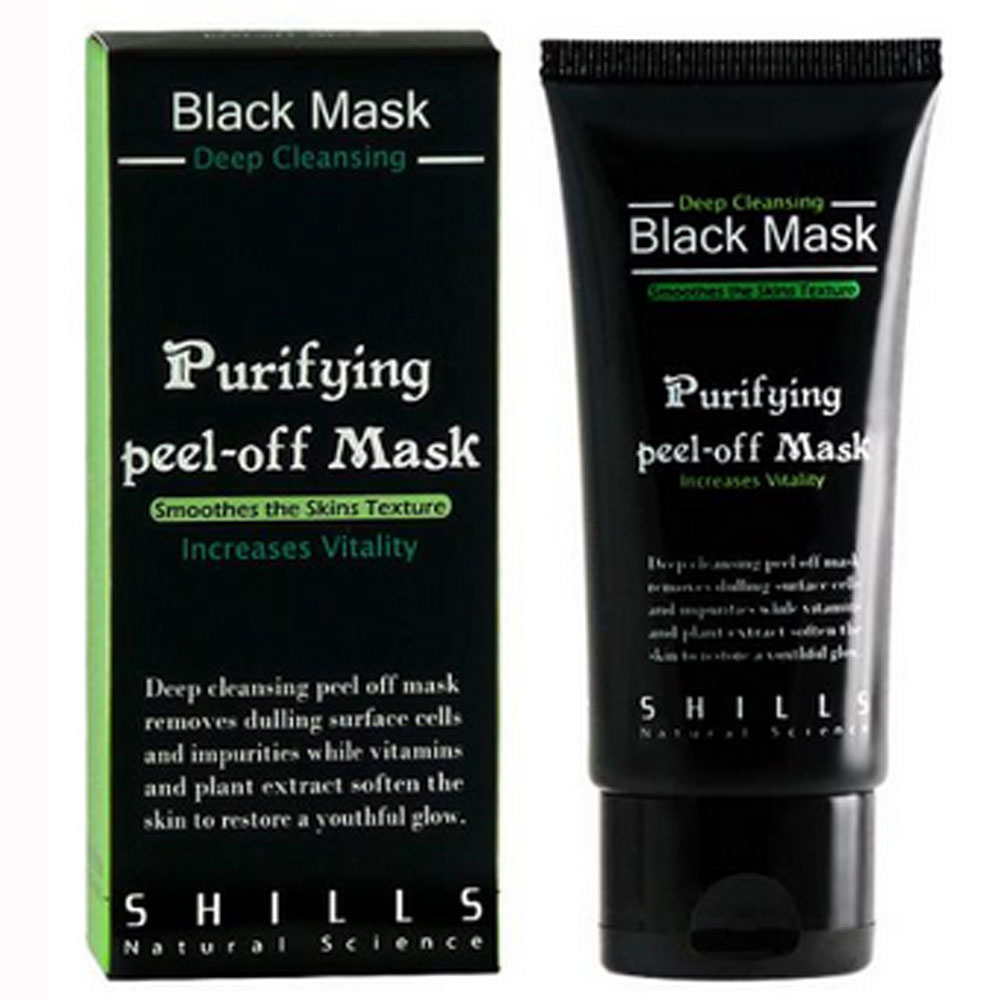 SHILLS舒兒絲 挽臉活性碳黑面膜 50ml