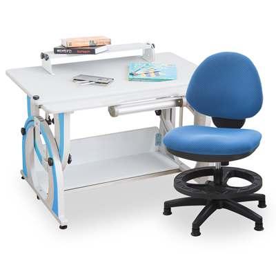 時尚屋 維吉爾兒童伸縮成長書桌椅組可選色/免運費/台灣製
