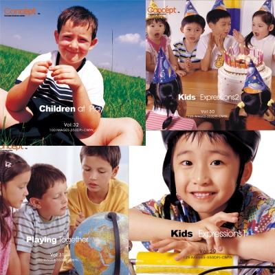 Concept 歡樂世界-兒童篇(一套四集)
