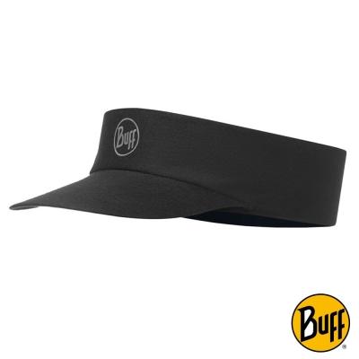 《BUFF》Coolmax 抗UV 快乾頂空帽 極簡黑 BF115096-999-10-0
