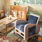 ALMI_DOA JEANS TISSU JEANS單人扶手沙發椅