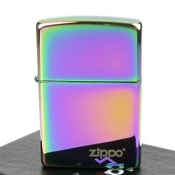 【ZIPPO】美系~LOGO字樣打火機~超質感Spectrum光譜色鏡面