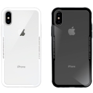 Metal-Slim Apple iPhone X 時尚鋼化玻璃保護殼