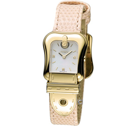 FENDI B.Fendi 完美時尚腕錶-金色/粉24x32mm