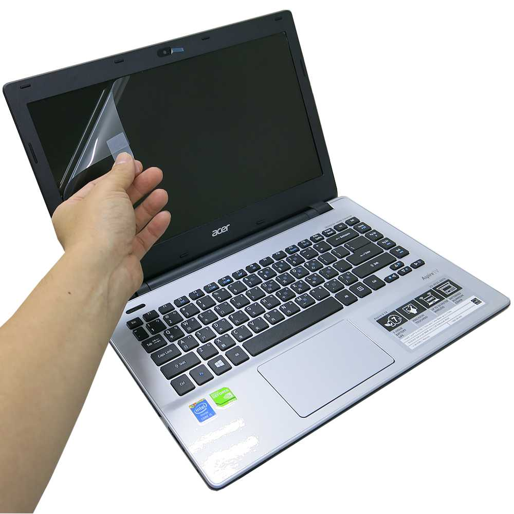 EZstick ACER V14 V3-472G 專用 靜電式筆電LCD液晶螢幕貼