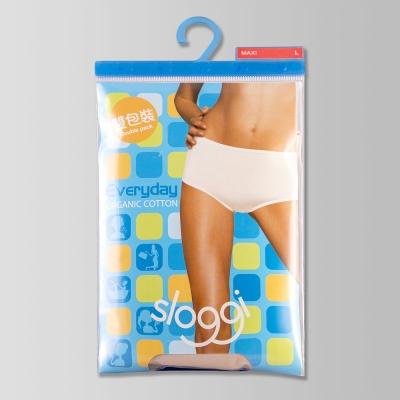 sloggi-Everyday有機棉高腰內褲兩件包 M-EEL(膚)