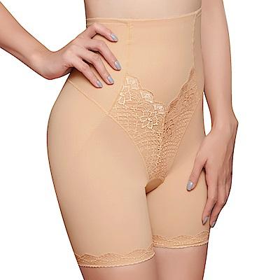 思薇爾 挺美力系列64-82輕機能超高腰短筒束褲(金檳膚)