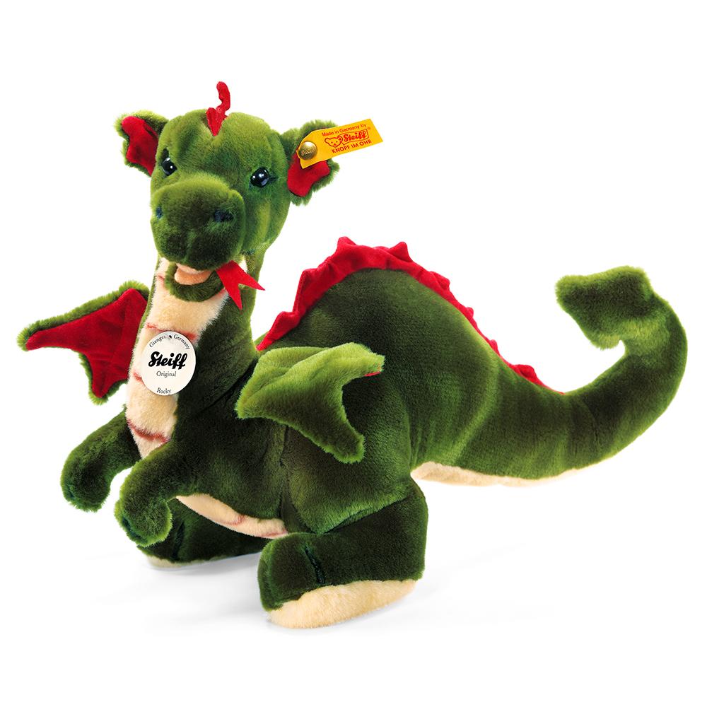 STEIFF德國金耳釦泰迪熊 -  Rocky Dragon (35cm)