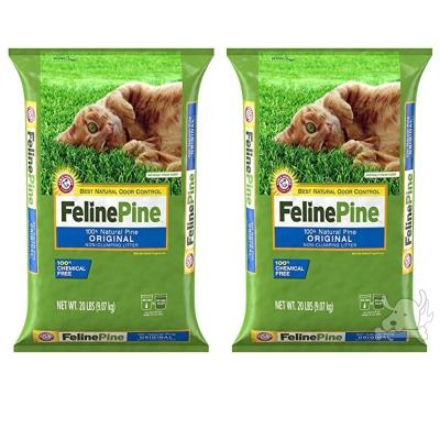 Feline Pine斑比 松木砂 20LB / 9.07kg x 2包