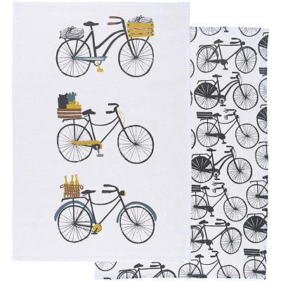 DANICA 餐廚布巾2入(腳踏車)