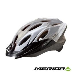 《MERIDA 》美利達CS-1700安全帽-灰/白/黑
