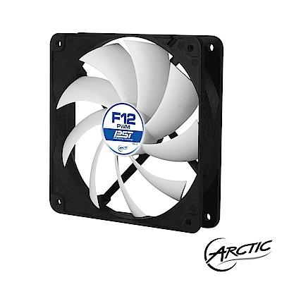 【Arctic-Cooling】F12 靜音PWM風扇(12公分 散熱風扇)