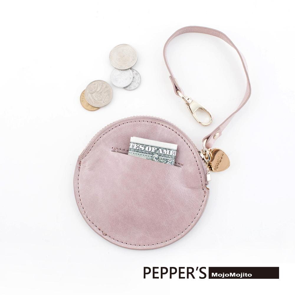 PEPPER`S 天馬包 MOJO牛皮Luna零錢包 - 4色