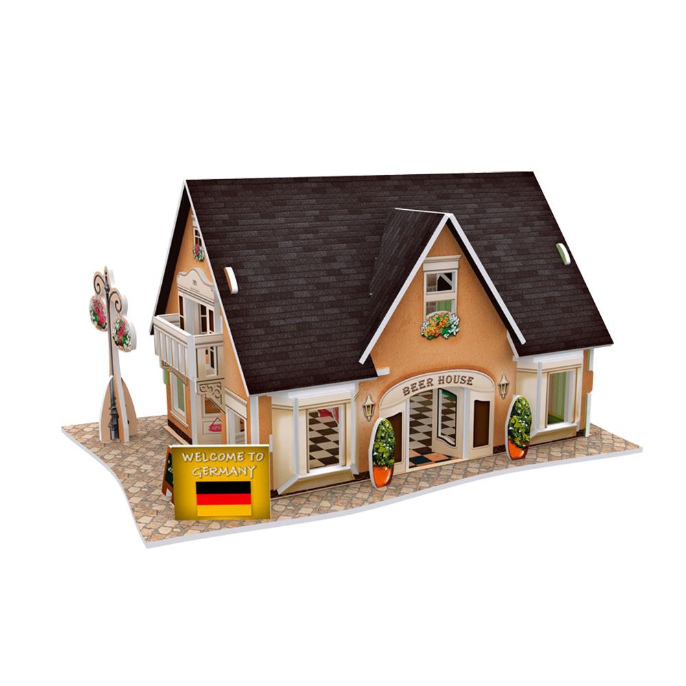世界之窗 3D立體拼圖 德國-啤酒屋 3D World Style