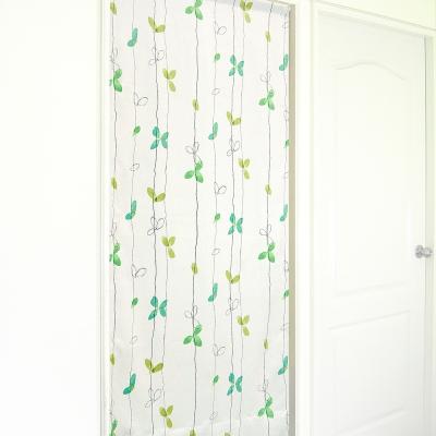 布安於室-落葉遮光風水簾-綠色