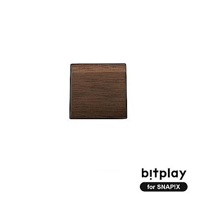 bitplay SNAP!X 相機殼專用經典原木製木把手-深色胡桃木
