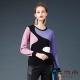 麥雪爾 多色混搭針織上衣-紫 product thumbnail 1