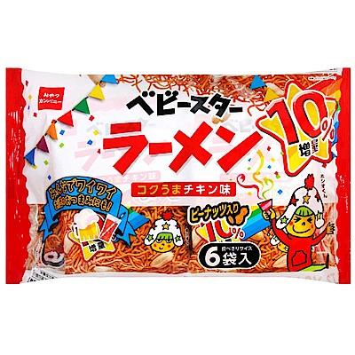 Oyatsu 6袋入花生點心麵-雞汁(162g)