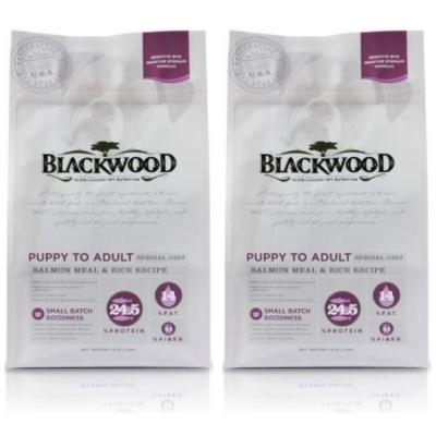 BlackWood 柏萊富 功能性全齡腸胃保健(鮭肉+米)5磅 2.27公斤 X 2包