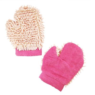超細纖維乾髮手套  2 雙